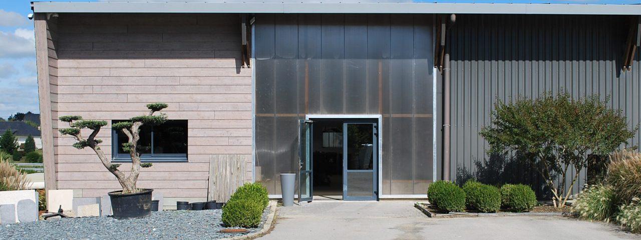 Présentation du bâtiment Ropert Paysages