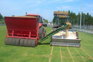 Drainage de sols sportifs